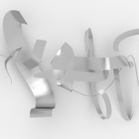 Wall Sculpture 1 - Render 1