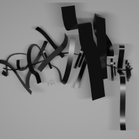 Wall Sculpture 2 - Render 1