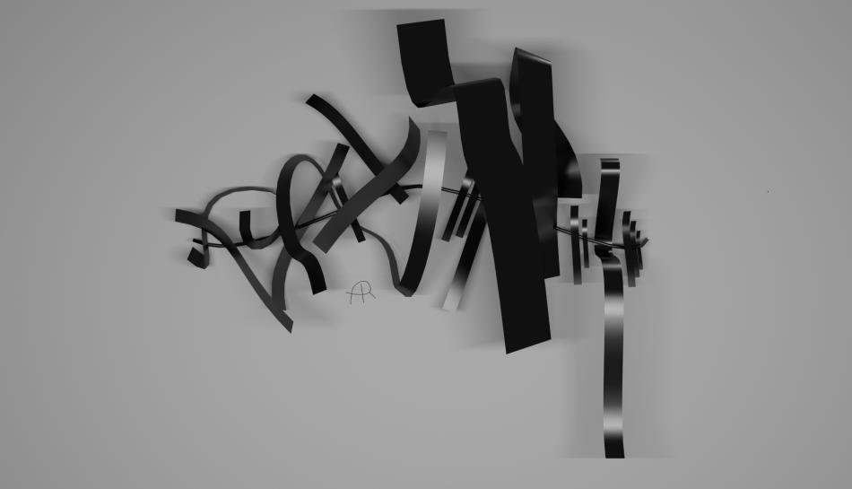 Wall Sculpture 2 - Render 1